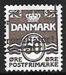 Sellos de Europa - Dinamarca -  Numeros
