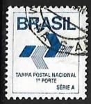 Stamps Brazil -  Simbolo correo