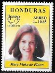 Sellos de America - Honduras -  UPAEP Amércica 98. Mujeres famosas
