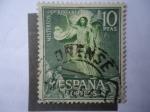 Stamps Spain -  Ed:1473- Misterios Santísimo Rosario -La Resurrección- Oleo del Pintor español, Bartolomé Esteban Mu