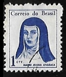 Sellos de America - Brasil -  Madre Joana Angélica