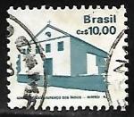 Sellos de America - Brasil -  Igreja se São Lorenco - Niteroi