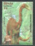 Stamps : Europe : Spain :  Animales Prihistoricos