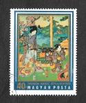 Sellos de Europa - Hungría -  2077 - Impresiones Japonesas del Museo de Arte de Asia Oriental. Budapest
