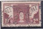 Sellos de Europa - Francia -  ARCO DEL TRIUNFO