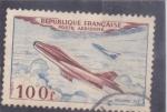 Sellos de Europa - Francia -  AVIÓN MISTERE IV