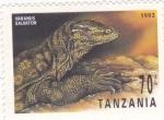 Stamps : Africa : Tanzania :  REPTIL