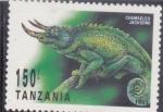 Stamps : Africa : Tanzania :  CAMALEÓN
