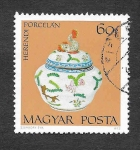 Stamps Hungary -  2170 - Porcelana de Herend