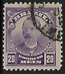 Stamps of the world : Brazil :  Benjamin Constant (1833-1891)