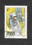 Sellos de Europa - Hungría -  25 Años de Viajes al Espacio