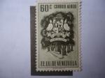 Stamps Venezuela -  EE.UU. de Venezuela - Estado Portuguesa - Escudo de Armas.