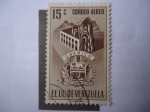 Stamps of the world : Venezuela :  EE.UU. de Venezuela - Estado Guárico - Escudo de Armas.
