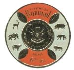Sellos del Mundo : America : Burundi : Escudo de Armas
