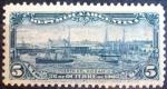 Stamps : America : Argentina :  Puerto del Rosario. Argentina. 1902
