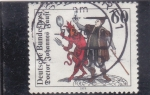 Stamps Germany -  DOCTOR JOHANNES FAUST