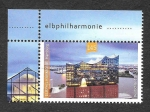 sello : Europa : Alemania : Filarmónica del Elba (Hamburgo)