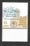 sello : Europa : Alemania : 200 Años de la Universidad de Bonn