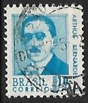Sellos de America - Brasil -  Arthur Bernardes (1875-1955)