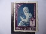 Sellos de America - Haití -  Papa Pío XII