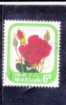 Stamps : Oceania : New_Zealand :  FLORES- ROSA ROJA