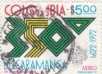 Sellos del Mundo : America : Colombia : 350 ANIVERSARIO DE BUCARAMANGA