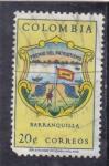 Stamps : America : Colombia :  ESCUDO- BARRANQUILLA
