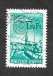Sellos de Europa - Hungría -  C267 - Aerolíneas Hungaras
