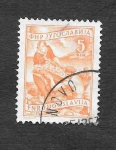 Stamps Yugoslavia -  345 - Agricultores