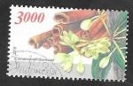 Sellos del Mundo : Asia : Indonesia : 2793 - Flor cinnamomum burmanii