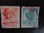 Stamps Mexico -  Arqueologia