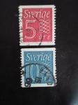 Sellos de Europa - Suecia -  Numeros