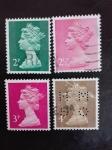 Stamps United Kingdom -  Reina Elisabeth II