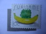 Sellos del Mundo : America : Surinam : Bananas - Bananos - Guineos