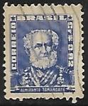Stamps : America : Brazil :  Almirante Tamandaré