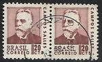 Sellos de America - Brasil -  Campos Salles (1841-1913)
