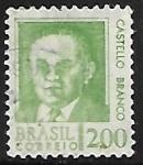 Stamps Brazil -  Castello Branco (1900-1967)
