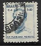 Sellos de America - Brasil -  Mariscal Floriano Peixoto