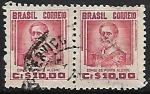 Sellos de America - Brasil -  Manuel Marques de Sousa (1804-1875)