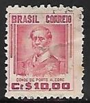 Stamps Brazil -  Manuel Marques de Sousa (1804-1875)