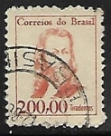 Sellos de America - Brasil -  Tiradentes