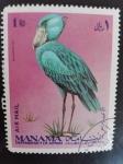 Stamps United Arab Emirates -  Manama Fauna