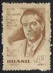Sellos de America - Brasil -  Adolfo López Mateos