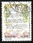 Stamps of the world : Brazil :  Centenário del nacimiento de Costa e Silva
