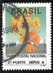 Sellos de America - Brasil -  Flores