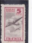 Sellos de Europa - España -  LINEAS AÉREAS IBERIA (34)letra en rojo
