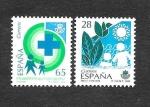 Stamps Spain -  Edf 3238-3239 - Servicios Públicos