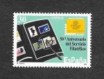 Sellos de Europa - España -  50º Aniversario del Servicio Filatelico