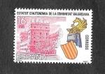 Sellos de Europa - España -  Estatuto de Autonomía de la Comunidad Valenciana