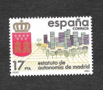 Stamps : Europe : Spain :  Edf 2742 - Estatuto de Autonomía de Madrid